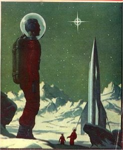 Astronaut & Christmas