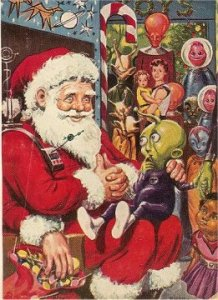 Santa and Aliens