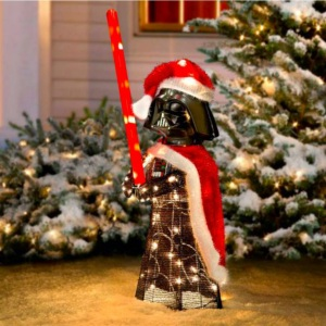 star wars darth vader Santa