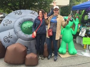 Alien Fest - Sue & Gretche