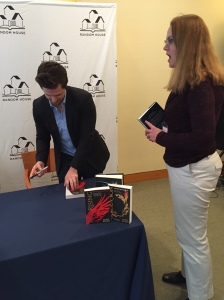 Posing with Pierce Brown